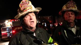 FDNY Chief talks about 3-alarm fire in Huguenot