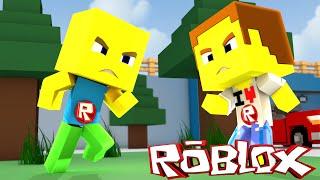 Minecraft-BATTLE OF BABIES: ROBLOX IN MINECRAFT!