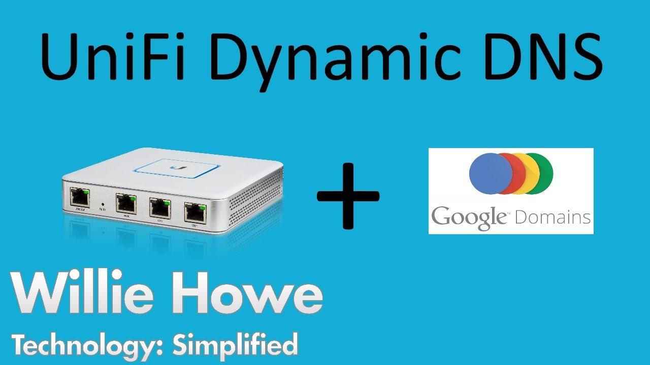 UniFi Dynamic DNS w/Google & UniFi 5 4 15 Released!