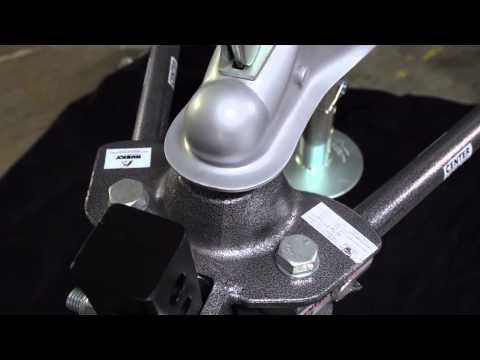 Anti Sway Hitch >> Husky CenterLine TS Weight Distributing Sway Control Hitch - YouTube