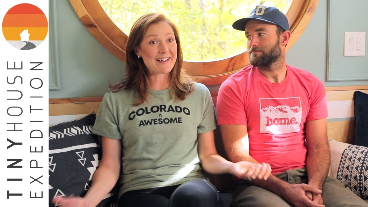 Couple Builds Tiny House Homestead as Adventure Base Camp