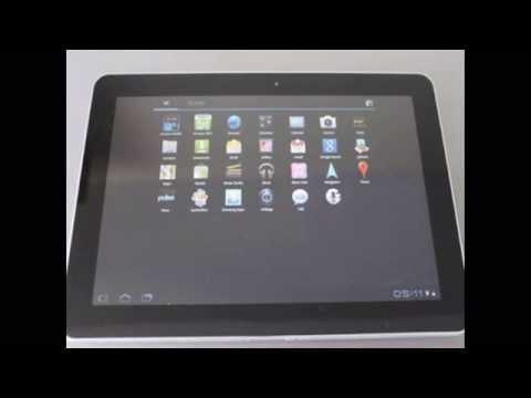 Đập hộp máy tính bảng Samsung Galaxy Tab 10.1