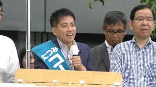 選挙演説動画のサムネイル