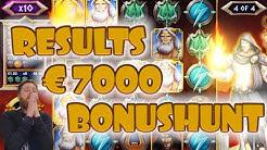 Epic €7000 BONUSHUNT RESULTS [10-01-2020]