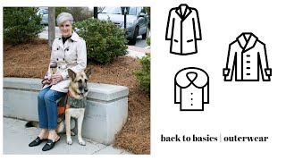 back to basics   outerwear