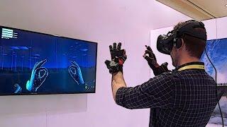 Hands-on: Noitom Hi5 Vive Tracker Gloves at CES 2017