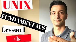Unix / Linux tutorial - command line - learn FASTest - fundamentals - ls - Lesson 1 - list files