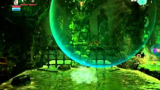 Trine 2 DLC Expansion Goblin Menace Level 1 All Experiences and Secrets (Paintings and Poems)