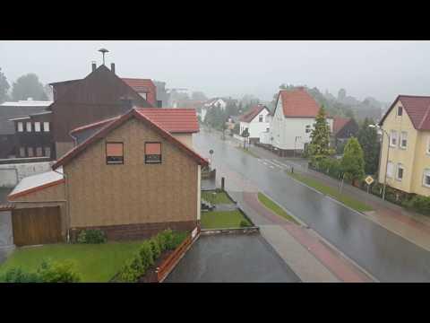 Nature and the rain in Germany / Natur und Regen in Deutschland