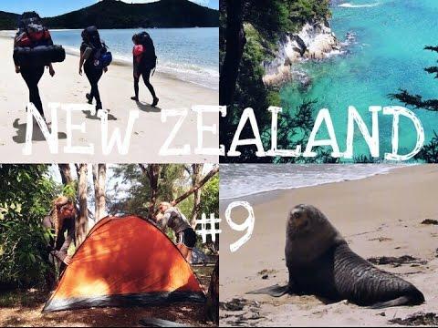 Abel Tasman Coast Track I NEW ZEALAND Vlog #9