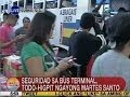 UB Mga pasahero, pila pila na sa Araneta Center Bus Terminal