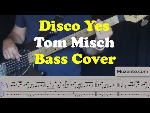 Disco Yes - Bass Cover