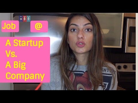 Startup vs a Big Company | Why I left my job to join a startup?