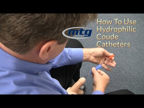 How To Use A Urinary Hydrophilic Coude Catheter