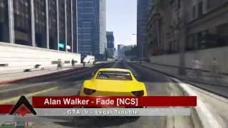 GTA V - Legal Trouble | Problemas legales || Alan Walker - Fade
