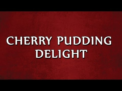 Cherry Pudding Delight | RECIPES | EASY TO LEARN