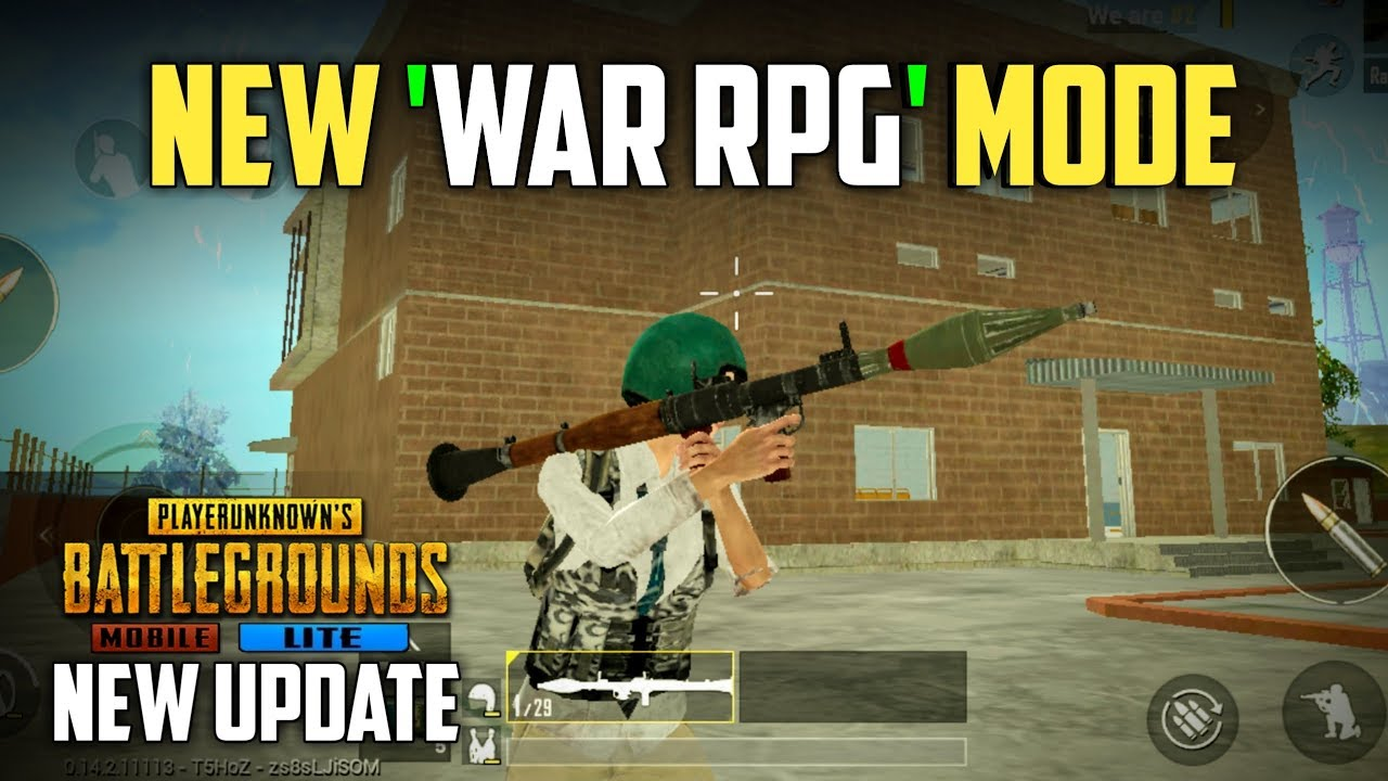 PUBG Mobile Lite New War RPG Mode Gameplay | 0.14.2.1 Beta Update