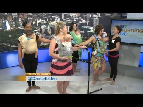 BabyWearing Ballet on CTV Morning Live Ottawa
