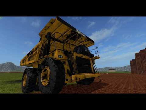 Farming simulator 17 | Cat 777D | Mining Truck | More about it