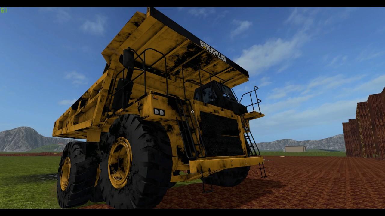 farming simulator 17 how to make mining work