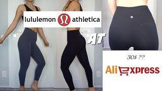 EXACT LULULEMON legging on ALIEXPRESS for 30 $