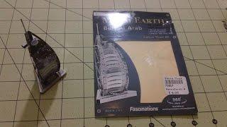 Mildly Relevant Reviews - Metal Earth Burj al Arab