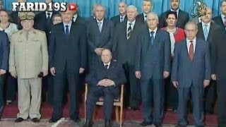 إجتماع مجلس الوزراء برئاسة الرئيس عبد العزيز بوتفليقة