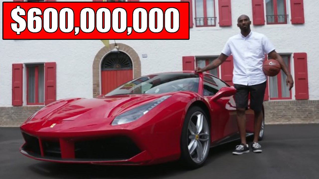 Kobe Bryant And 10 Expensive Things He Previously Owned