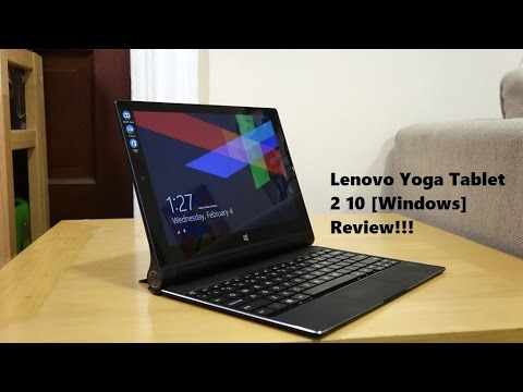 Lenovo Yoga Tablet 2 10 [Windows] Review