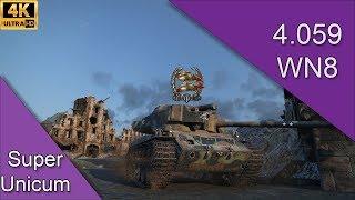 World of Tanks - T26E4 Super Pershing #14   WN8 : 4.059