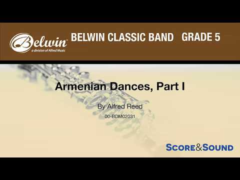 Armenian Dances, Part I By Alfred Reed - Score & Sound