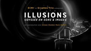 ECM+ Trio Gryphon - Illusions (bande-annonce, 2015)