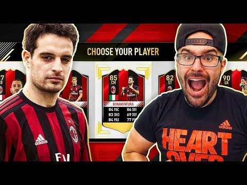 THE AC MILAN/SERIE A DRAFT ONLY!!! - FUT DRAFT CLUB CHALLENGE FIFA 17 Ultimate Team #03
