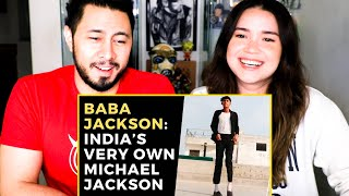 BABA JACKSON: INDIA'S VERY OWN MICHAEL JACKSON | TikTok Viral | Reaction | Jaby Koay & Achara