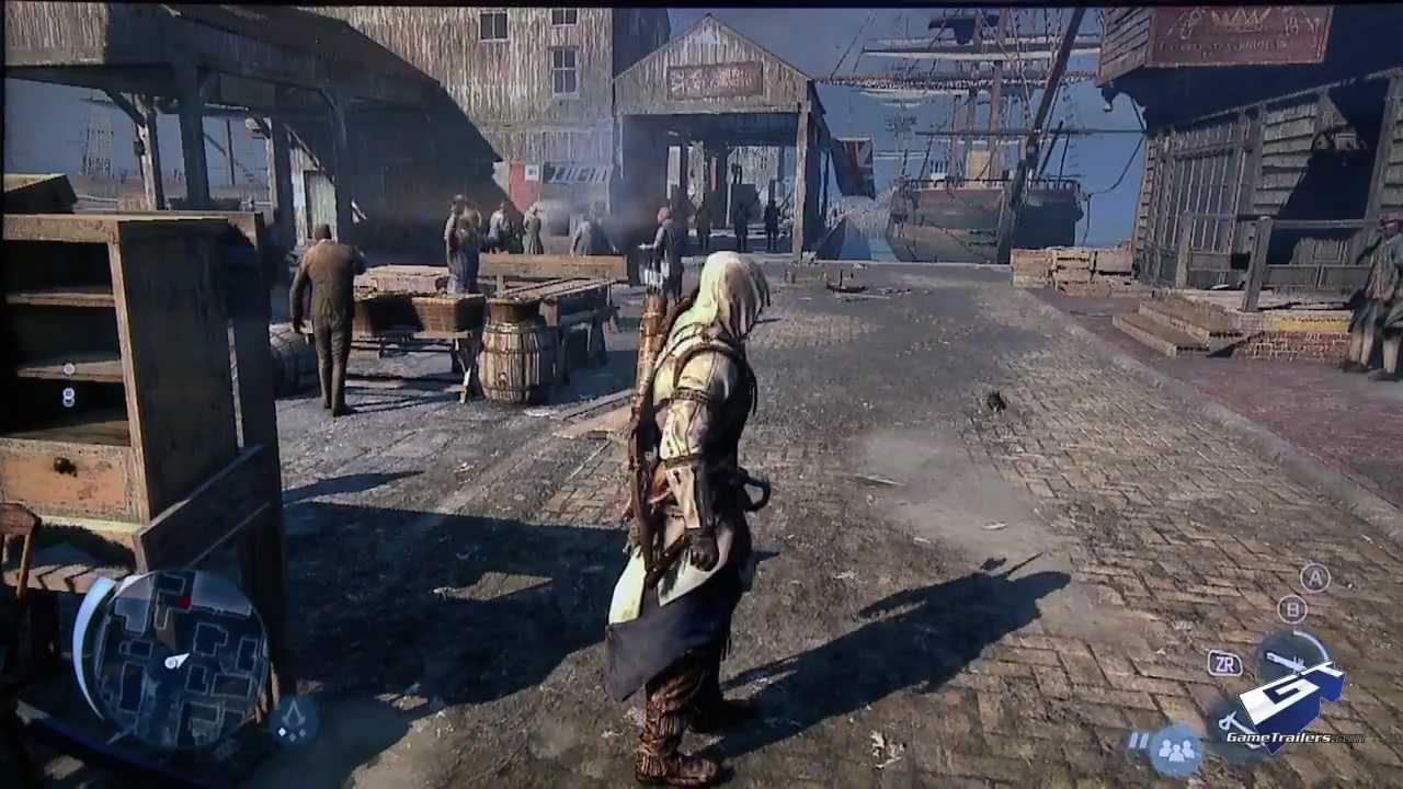 Assassin S Creed Iii E3 2012 Wii U Marketplace Massacre