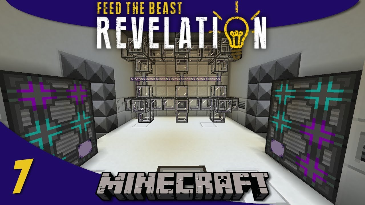 AE2 Autocrafting, Automated Wither Grinder, Ink Farm: 1 12 Modded Minecraft  FTB Revelation SMP : E07