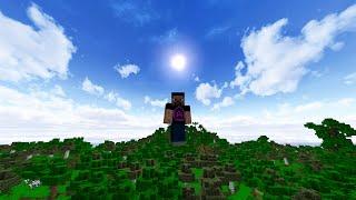 Настоящее живое небо в Minecraft! Lively Default Ресурс пак
