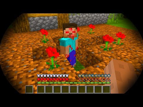 We found HEROBRINE at the wrong time in Minecraft!