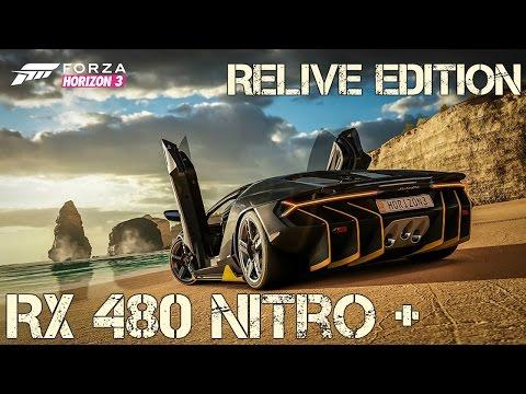 FORZA HORIZON 3 || RX 480 NITRO+ || @4K Relive drivers kicks in!!