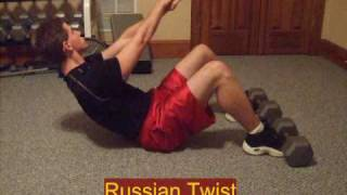 Russian Twist For Flat Stomach Six Pack Abs