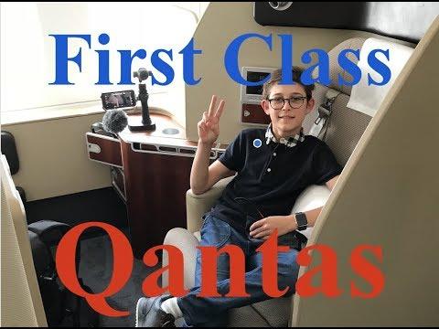 Qantas First Class A380 Seat - Review