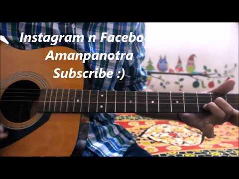 Zara Zara Mehakta Hai - Romantic Guitar Cover Lesson chords SONG