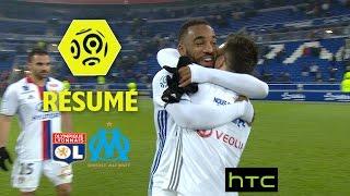 Olympique Lyonnais - Olympique de Marseille (3-1)  - Résumé - (OL - OM) / 2016-17