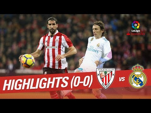 Highlights Athletic Club vs Real Madrid (0-0)