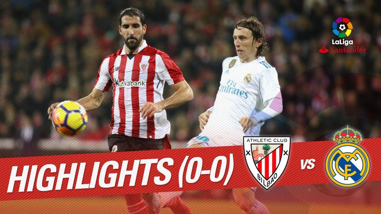 Атлетик - Реал 0:0 видео