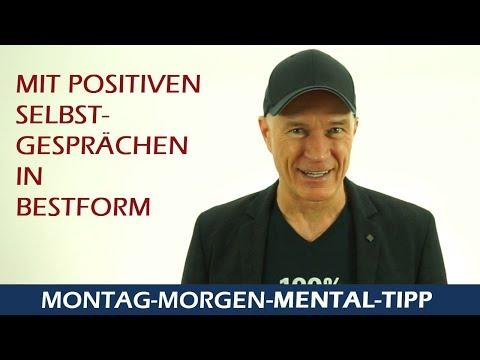 """Mental Tipp   """"Sprich positiv mit dir selbst"""""""