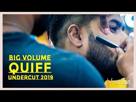 BIG VOLUME  QUIFF-Men's Hairstyle & Undercut Trend 2019 Tutorial thumbnail