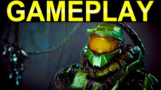 Halo 2 Anniversary GAMEPLAY Gravemind 60fps (Halo: The Master Chief Collection Gameplay & Cutscenes)