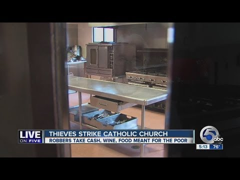 Church robbed on Detroit Ave.