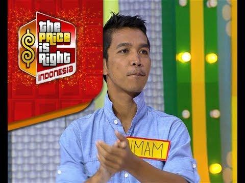 Apakah angka tebakan Imam benar di Game Any Number? - The Price Is Right Indonesia